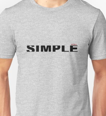 simple type  Unisex T-Shirt