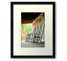 louisiana porch Framed Print