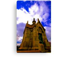 The Tomb Canvas Print