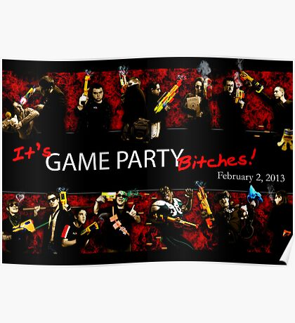 Game Party Bitches! Poster
