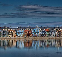 Houses on the Lake by homendn