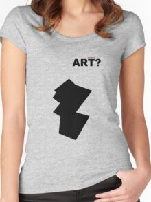 ART ? Women's Fitted Scoop T-Shirt