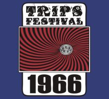 Trips Festival T-Shirt by retrorebirth