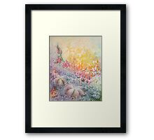 Mystery of the Flowers Framed Print