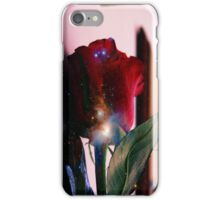 Red Rose and Universe iPhone Case/Skin