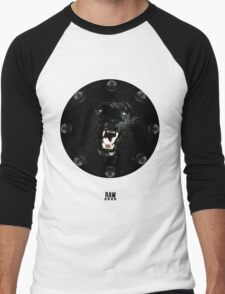 RAW**** x BLACK JAGUAR Men's Baseball ¾ T-Shirt
