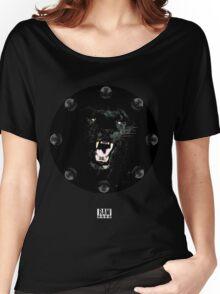 RAW**** x BLACK JAGUAR Women's Relaxed Fit T-Shirt
