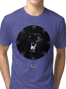 RAW**** x BLACK JAGUAR Tri-blend T-Shirt