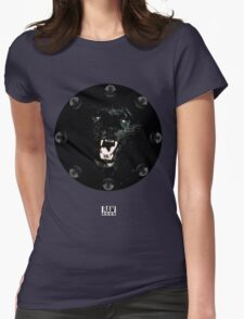RAW**** x BLACK JAGUAR Womens Fitted T-Shirt