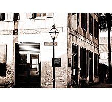bw building Photographic Print
