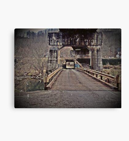 andrew scott bridge antique Canvas Print