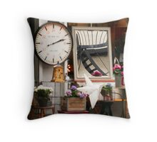 through the looking-glass Throw Pillow