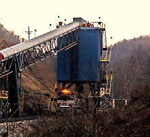 coal towers by Alaric Lubaczewski