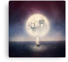 Moon House Canvas Print