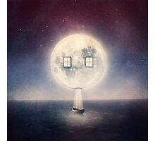 Moon House Photographic Print