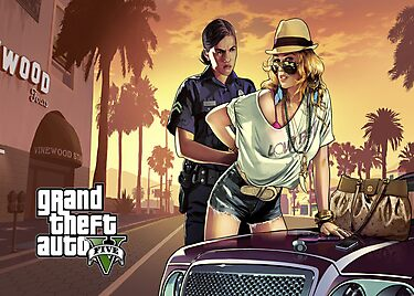 GTA V Poster by flemdogga
