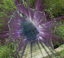 anne spencer bridge lens flare by Alaric Lubaczewski