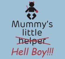 Mummy's little hell boy by Coemlyn