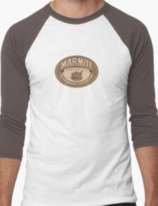 Marmite sepia Men's Baseball ¾ T-Shirt