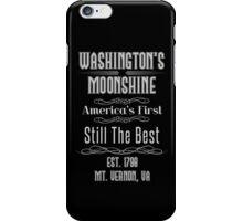 Moonshine - George Washington iPhone Case/Skin