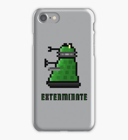 8Bit EXTERMINATE iPhone Case/Skin