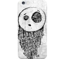 Dissolving Figure #1 iPhone Case/Skin