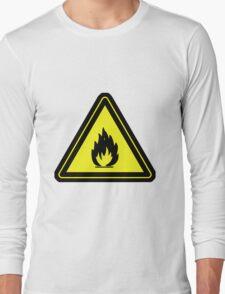 Flammable Long Sleeve T-Shirt