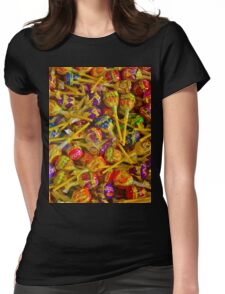 LOLLY pop! LOLLY pop! Womens Fitted T-Shirt