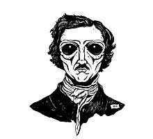 Edgar ALIEN Poe Photographic Print