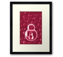 ❀◕‿◕❀REDBUBBLE MOM AND BABY BUBBLE #2❀◕‿◕❀ Framed Print