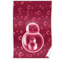 ❀◕‿◕❀REDBUBBLE MOM AND BABY BUBBLE #2❀◕‿◕❀ Poster