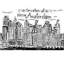 Nieuw Amsterdam Photographic Print