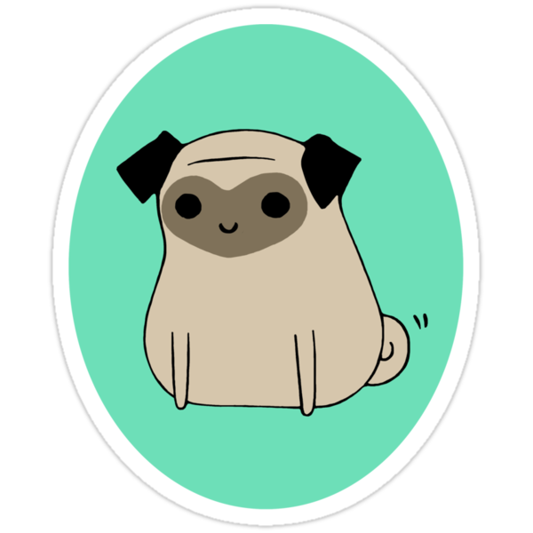 My Little Love Pug by Amber Hendricks