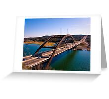 360 Bridge Greeting Card