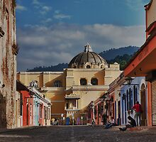 Cathedral in Antigua by Jeanne Frasse