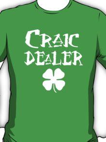 St Patrick's Day: Craic Dealer T-Shirt