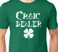 St Patrick's Day: Craic Dealer Unisex T-Shirt