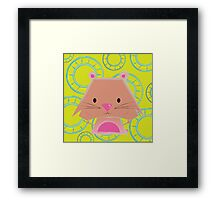Mimalitos - Hamster Framed Print