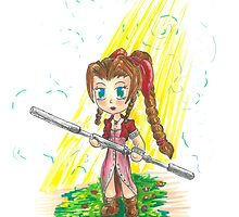 Aeris Gainsborough by Tony Heath