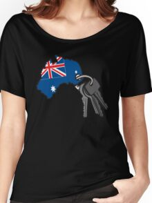 Keys to Australia  Women's Relaxed Fit T-Shirt