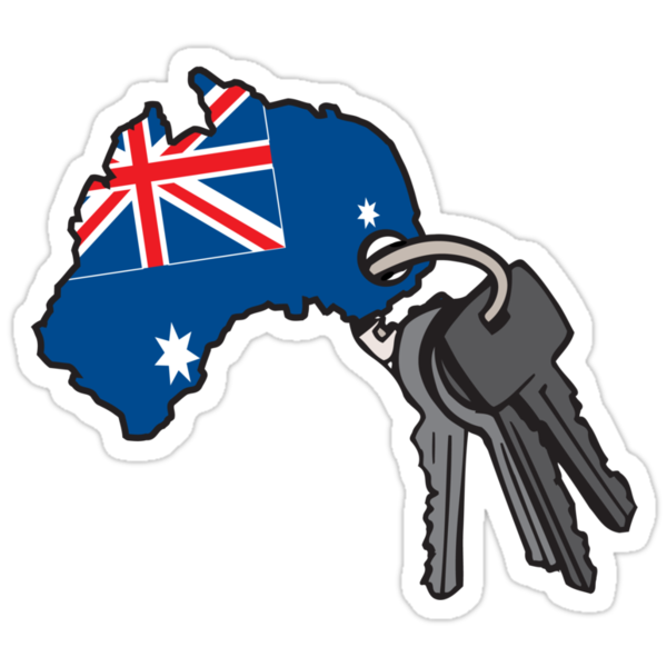 Keys to Australia  by Brantoe