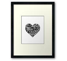 I Heart Disney Framed Print