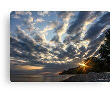 Sunrise Sky Canvas Print
