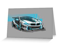 Sport Coupe Concept Greeting Card