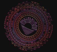 The Scream Mandala by TeaseTees