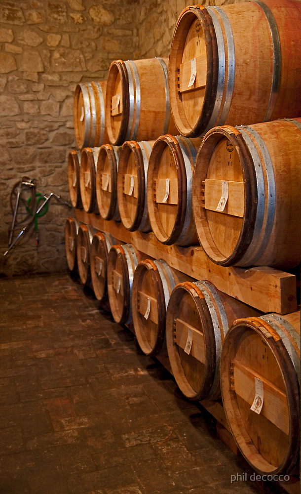 Sixteen Barrels by phil decocco