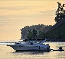 Morning at Anchor by Mikell Herrick
