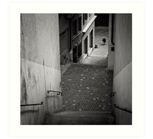 Stairs - Zurich, Switzerland Art Print