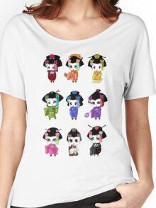 Chibi Geisha Women's Relaxed Fit T-Shirt