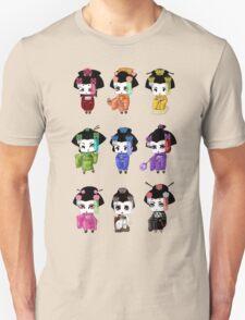 Chibi Geisha Unisex T-Shirt